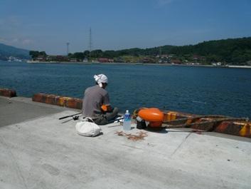 釣りに挑戦