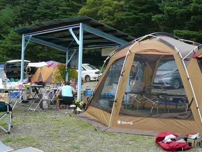 本栖湖レークサイドキャンプ場
